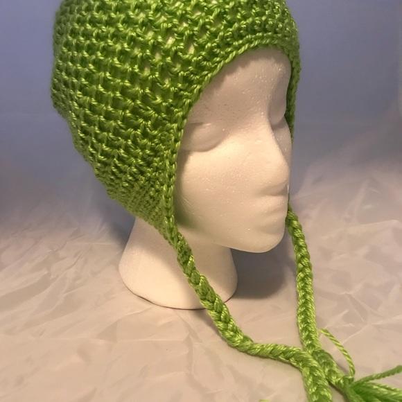 13cf7b30b61 Crochet Kids Hat with Ear Flap and Braids